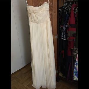 Aryn k ivory dress XS